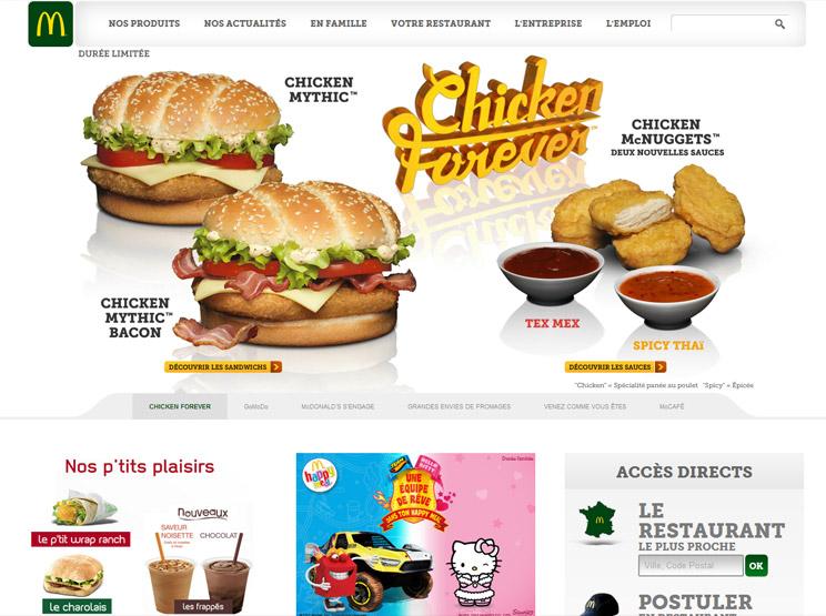 McDonald's France by Ultranoir