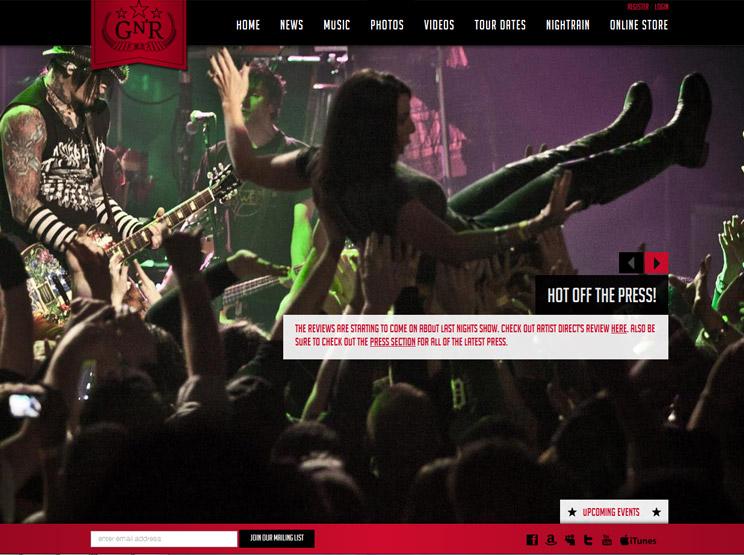 Guns n Roses by Ground CTRL