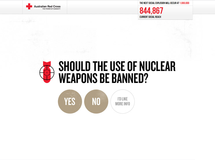 Target Nuclear Weapons by Pollen Digital