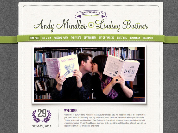 awesome best wedding website examples images   styles
