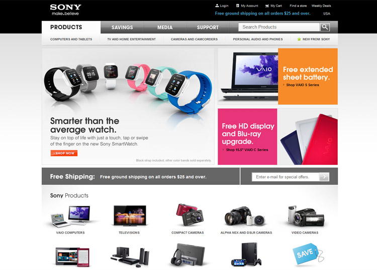 Discover Sony Store