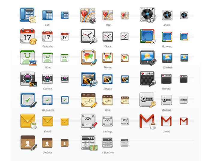 Mobile Application Set