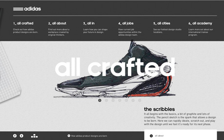 adidas design studios awwwards sotd