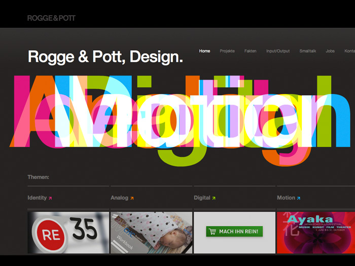 Rogge & Pott, Design