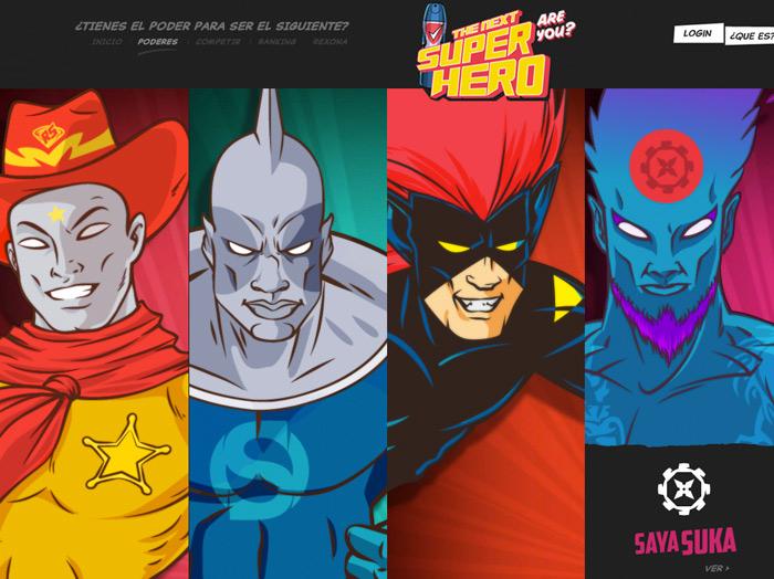 Superhero. Rexona