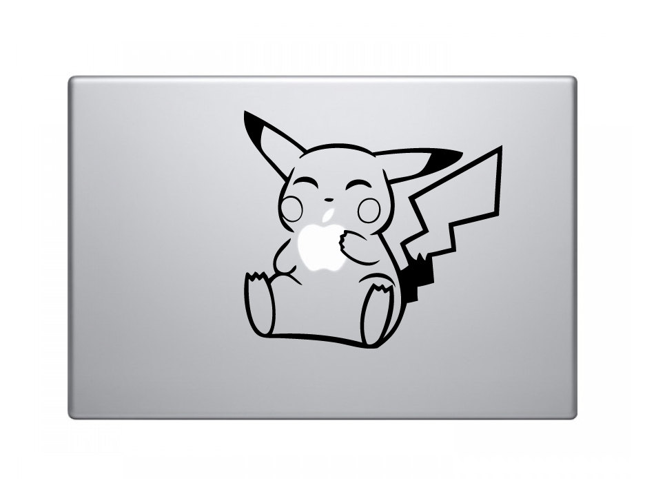 Pikachu vinyl sticker