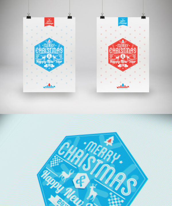 Christmas cards from behance for your inspiration reheart Choice Image