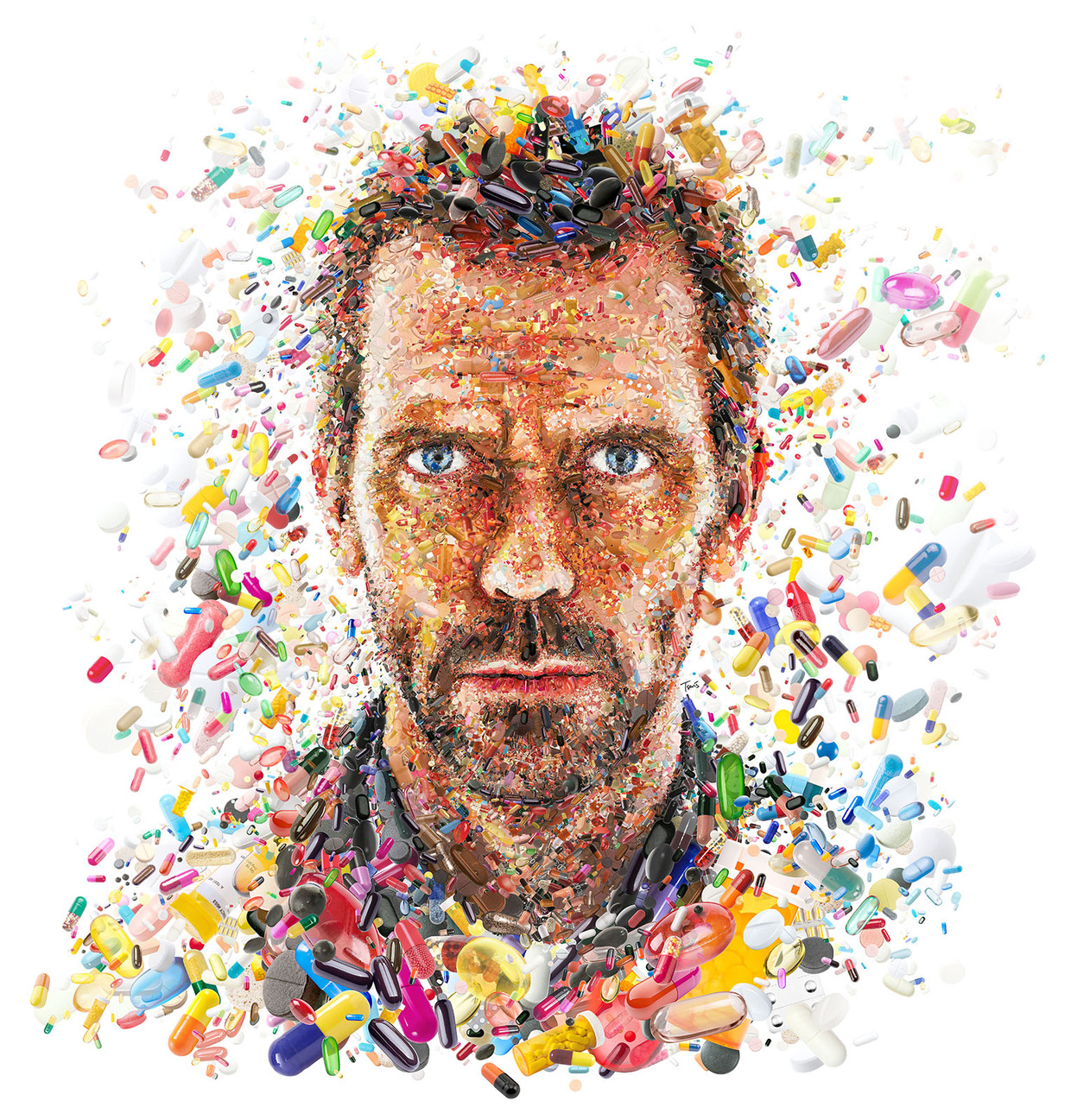 The Mesmerizing Digital Artwork And Complex Mosaic