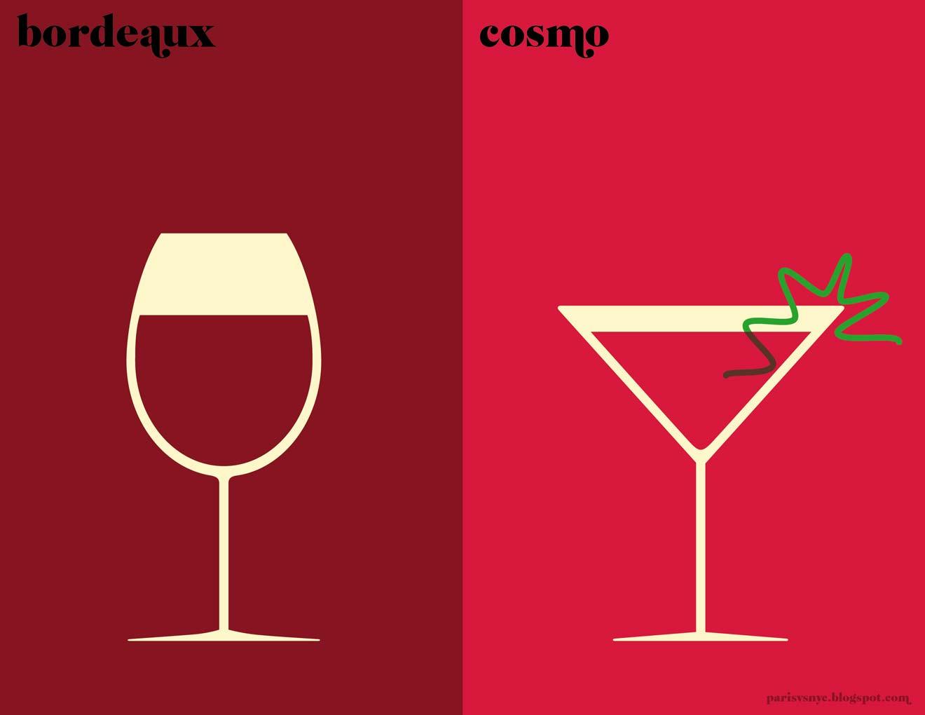 paris vs new york as seen by french graphic artist vahram muratyan