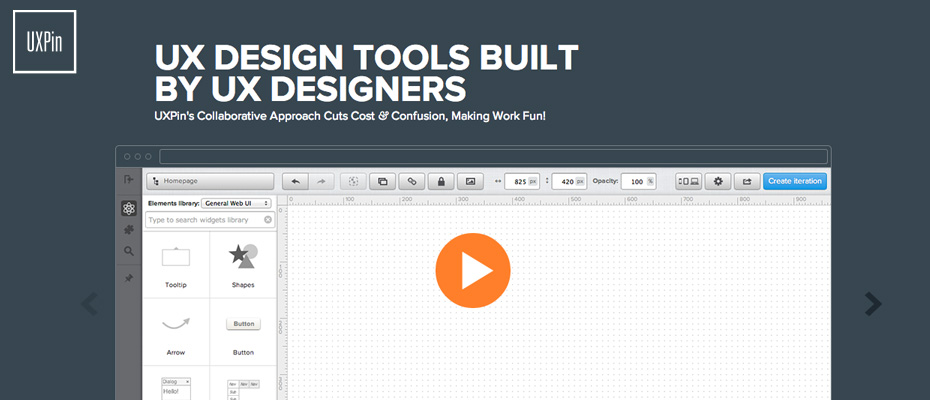 Web design mockup tool for Website planning tool