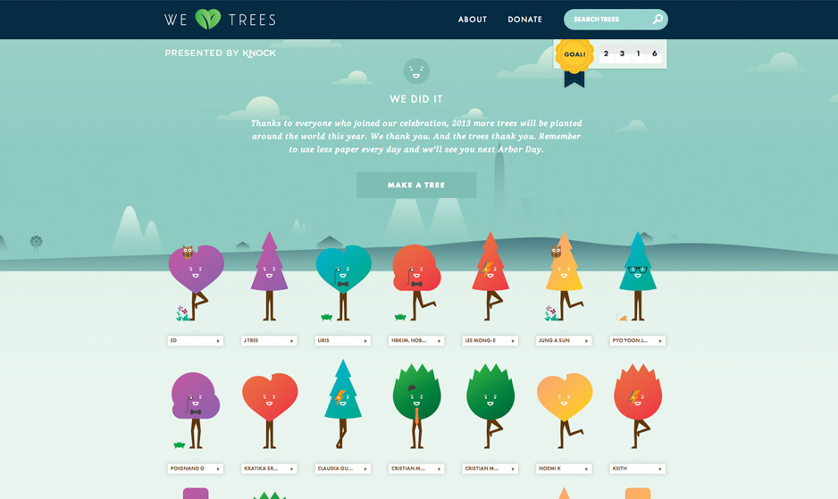 We heart trees