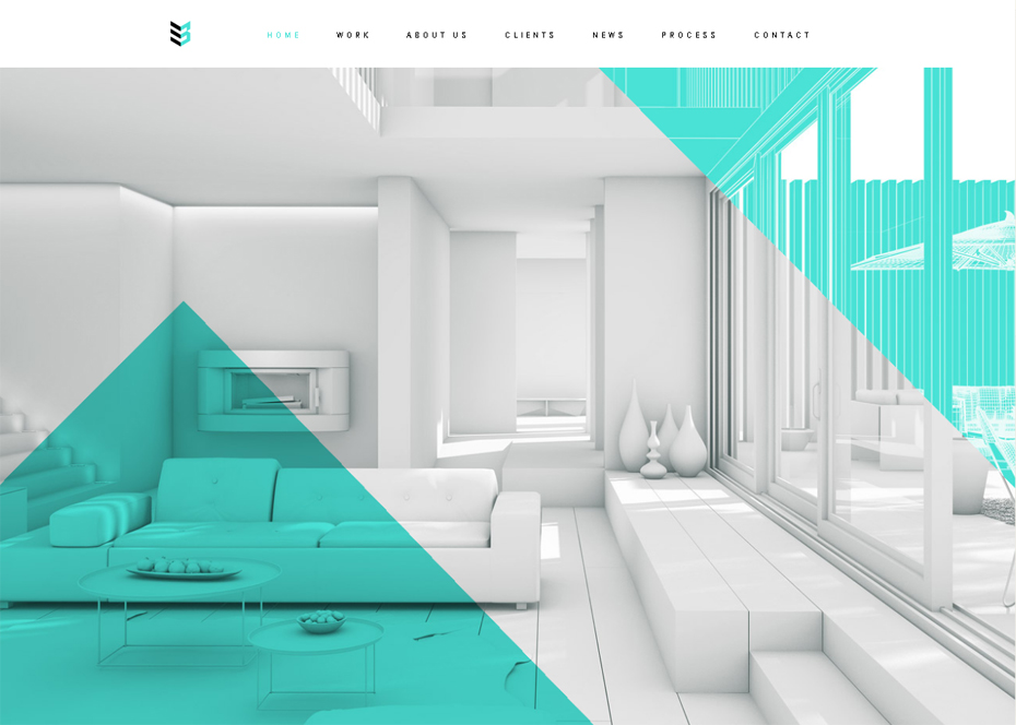 50 awesome websites with extraordinary geometry elements for Bad in design