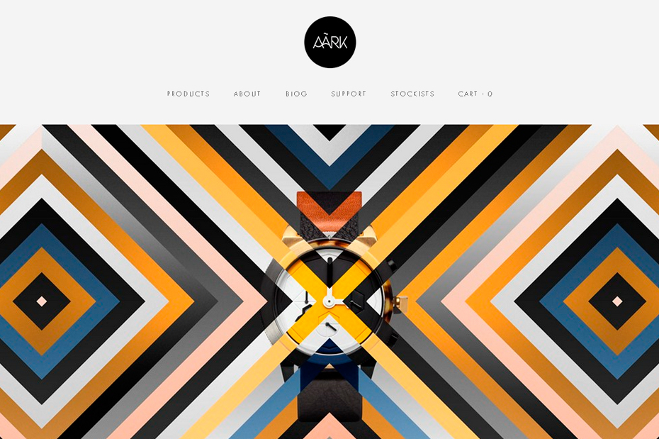 Symmetry In Design 50 awesome websites with extraordinary geometry elements