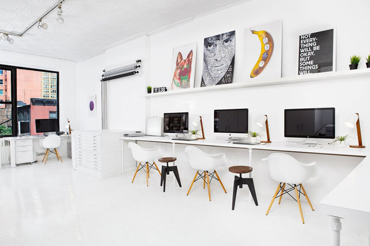 Grand designs for small workspaces the freelancer s dream office - Deco kamer kantoor ...