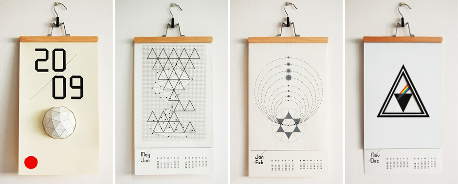 New Calendar Design Ideas : Creative calendar designs