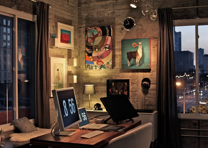 Grand Designs for Small Workspaces: The freelancer's dream ...