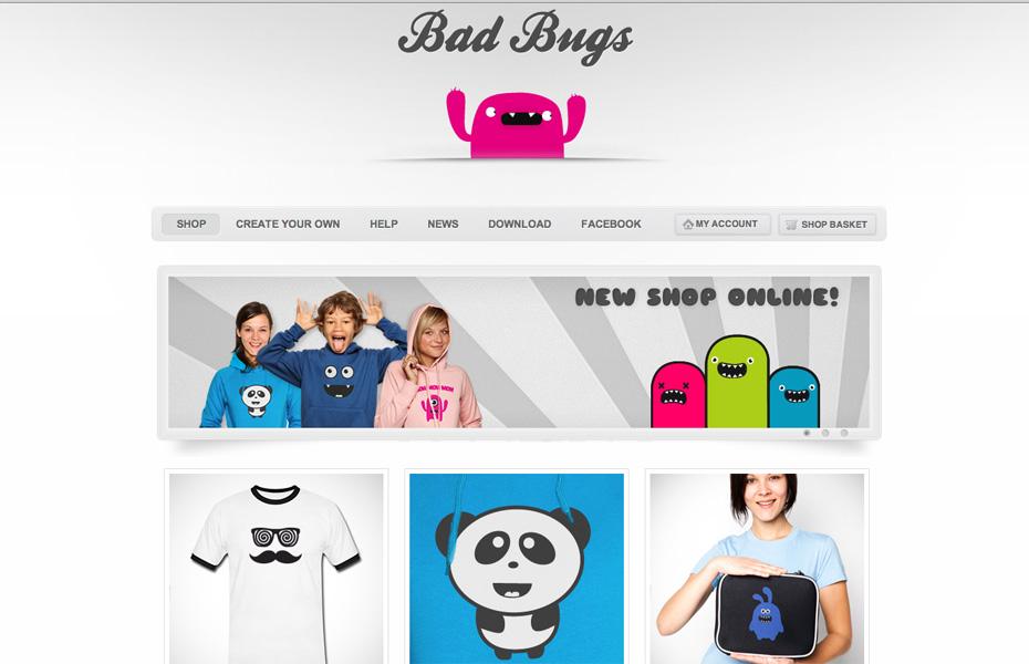 Bad Bugs Shirts