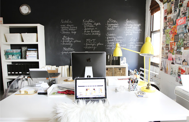 Working In Interior Design grand designs for small workspaces: the freelancer's dream office