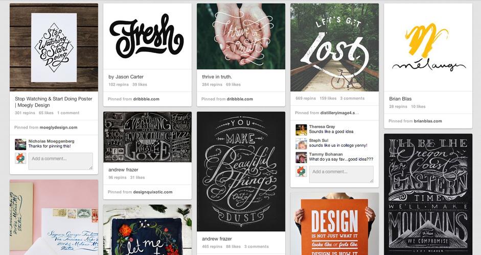 Daniel Bear Hunley | Typography | 316 pins