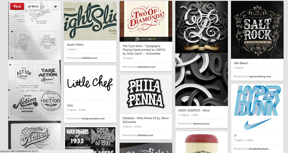 Jeff Andrews | Typography | 333 Pins
