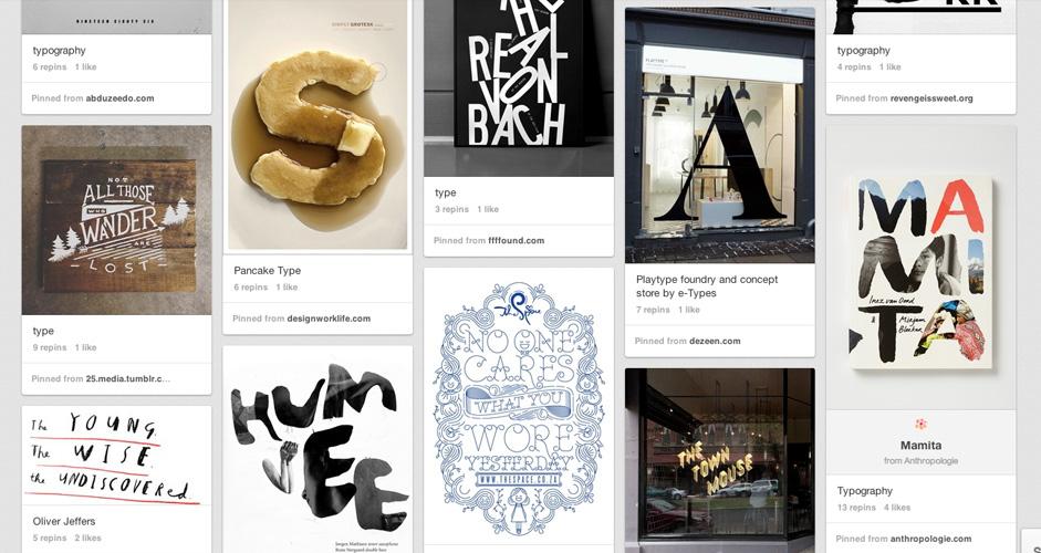 Angie Durrant Batis | Typography | 446 Pins