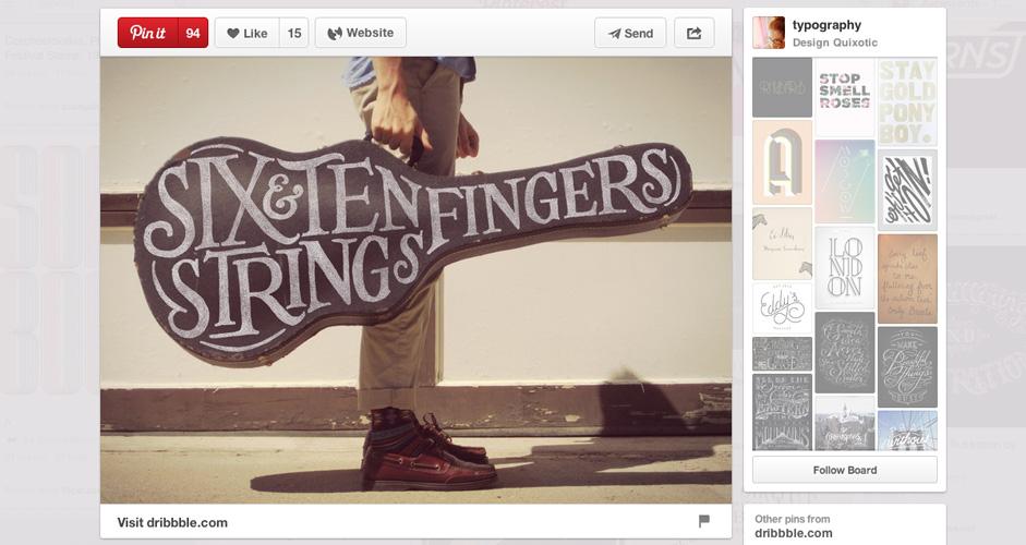 Design Quixotic | Typography |  1,398 Pins