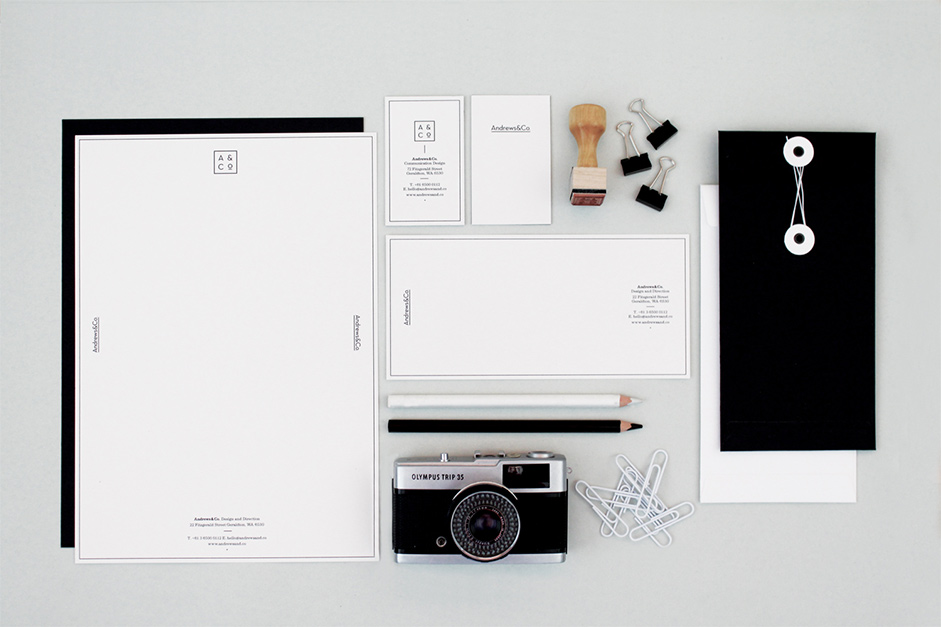 stunning stationery and branding projects