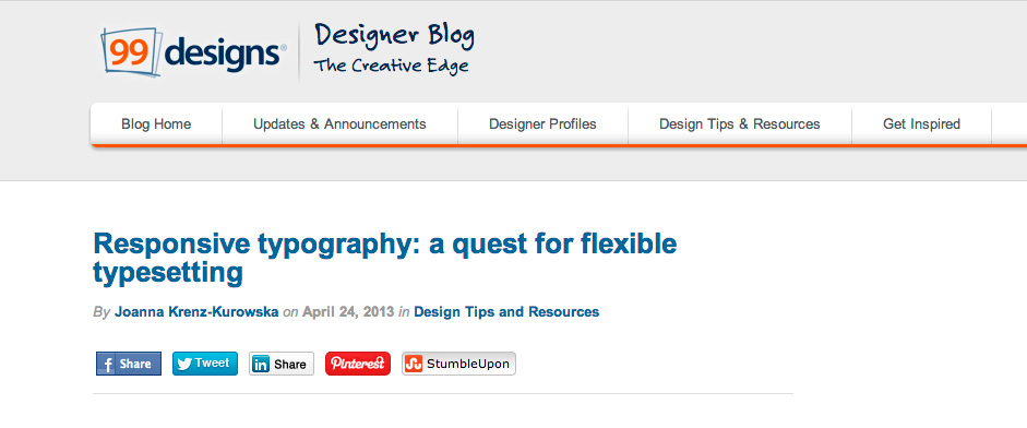 Responsive Typography: a quest for flexible typesetting