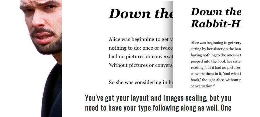 Handling Typography for Responsive Design
