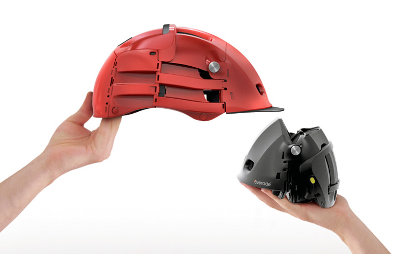 Overade foldable bike helmet