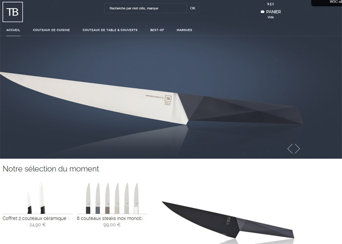TB, french cutlery (and co)