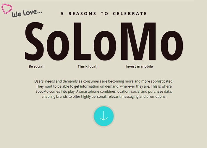 5 Reasons To Celebrate SoLoMo