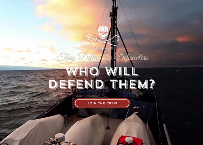 Sea Shepherd - Get Behind the Defenders