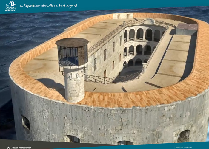 The virtual exhibitions of Fort Boyard