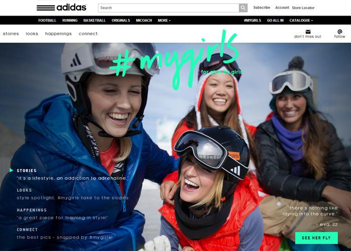 adidas Women: #mygirls