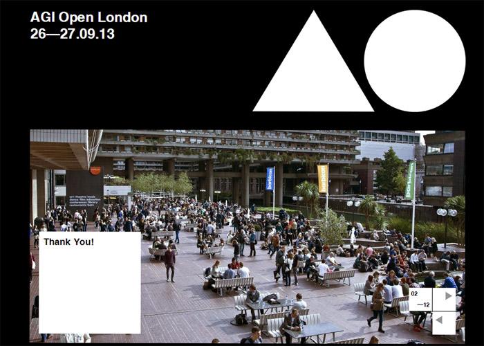 AGI Open London