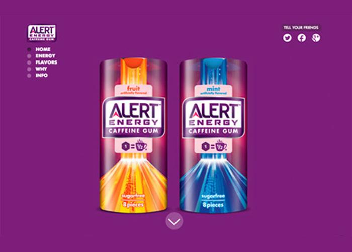 Alert Energy Caffeine Gum