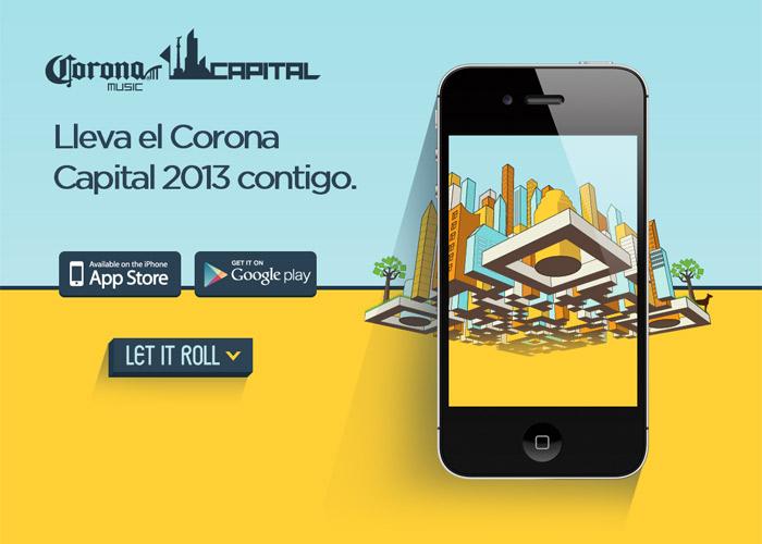 Corona Capital 2013 / App