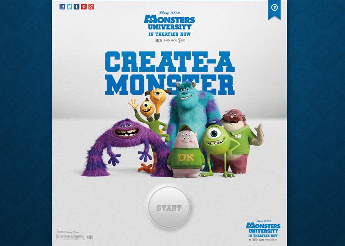 MU Create-a-Monster App