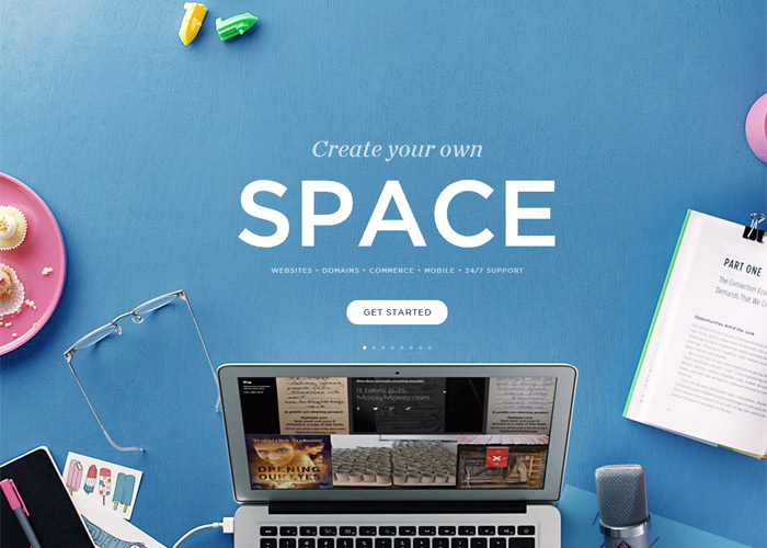 Squarespace - Create Your Own Space
