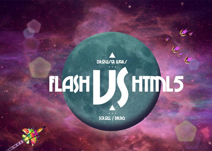 Flash V HTML