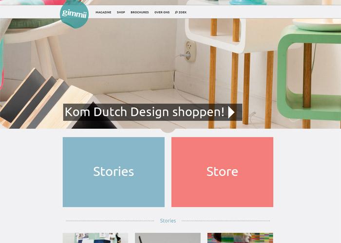 Gimmii Magazine - Dutch design