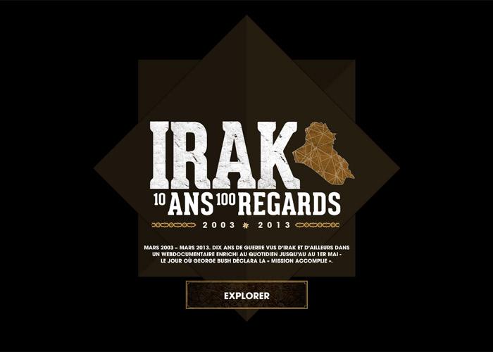 IRAQ - 10 ans, 100 regards