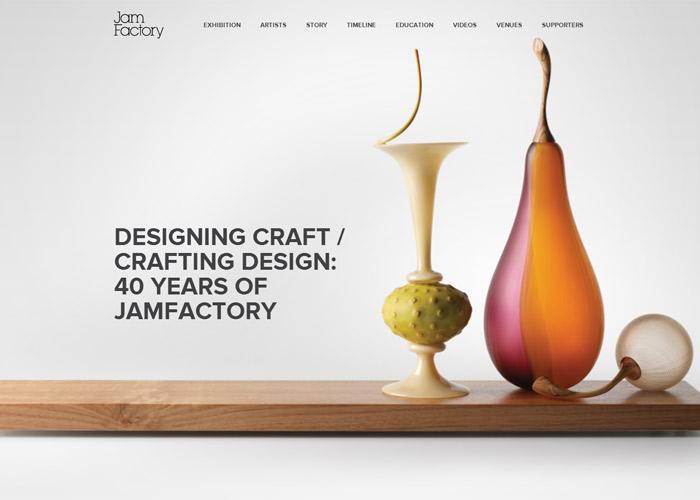 DESIGNING CRAFT / CRAFTING DESIGN: 40 YEARS OF JAMFACTORY