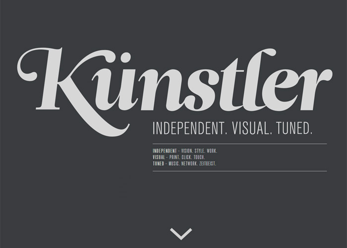 Kunstler - Independent. Visual. Tuned.