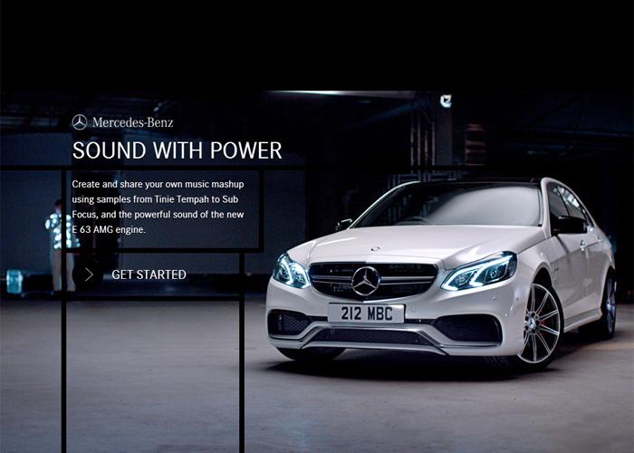 Mercedes-Benz: Sound With Power