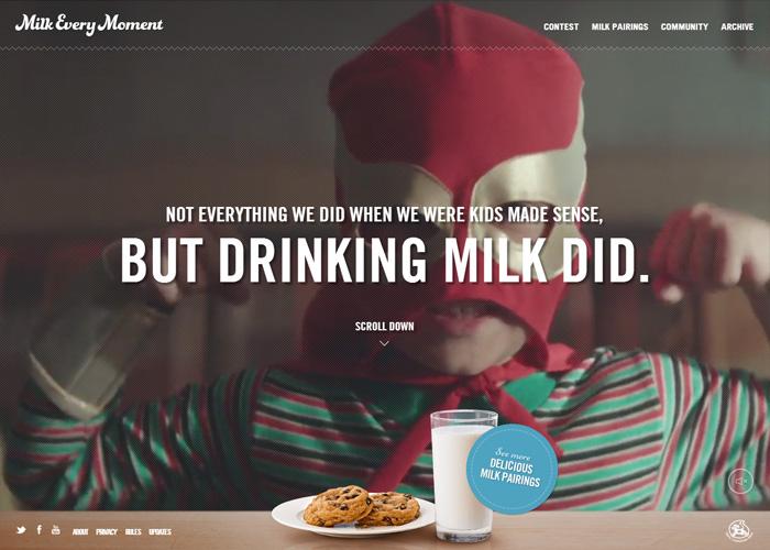 milk every moment