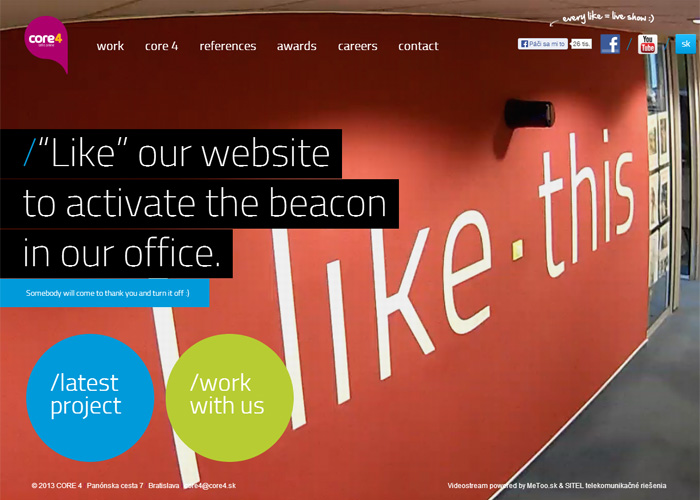 online agency interactive web