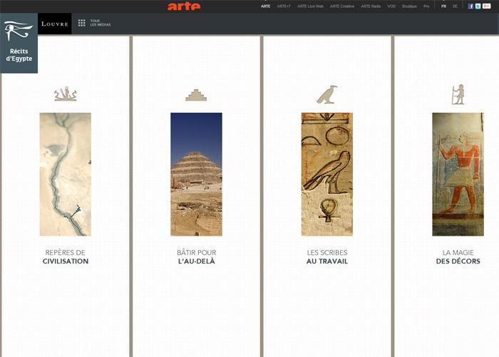 Récits d'Egypte