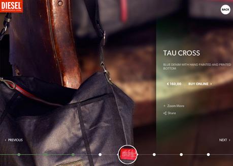 Diesel Shoes, Bags & Accessories
